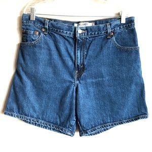 550 Levis High Waisted Shorts